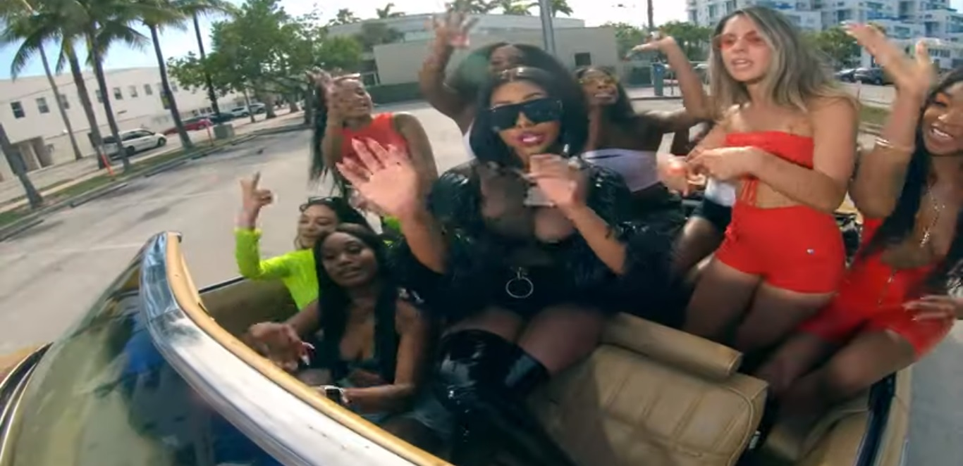 City Girls Release the Video to their Hit 'Act Up' Amid Beef with Hazel E Over Stealing the Beat