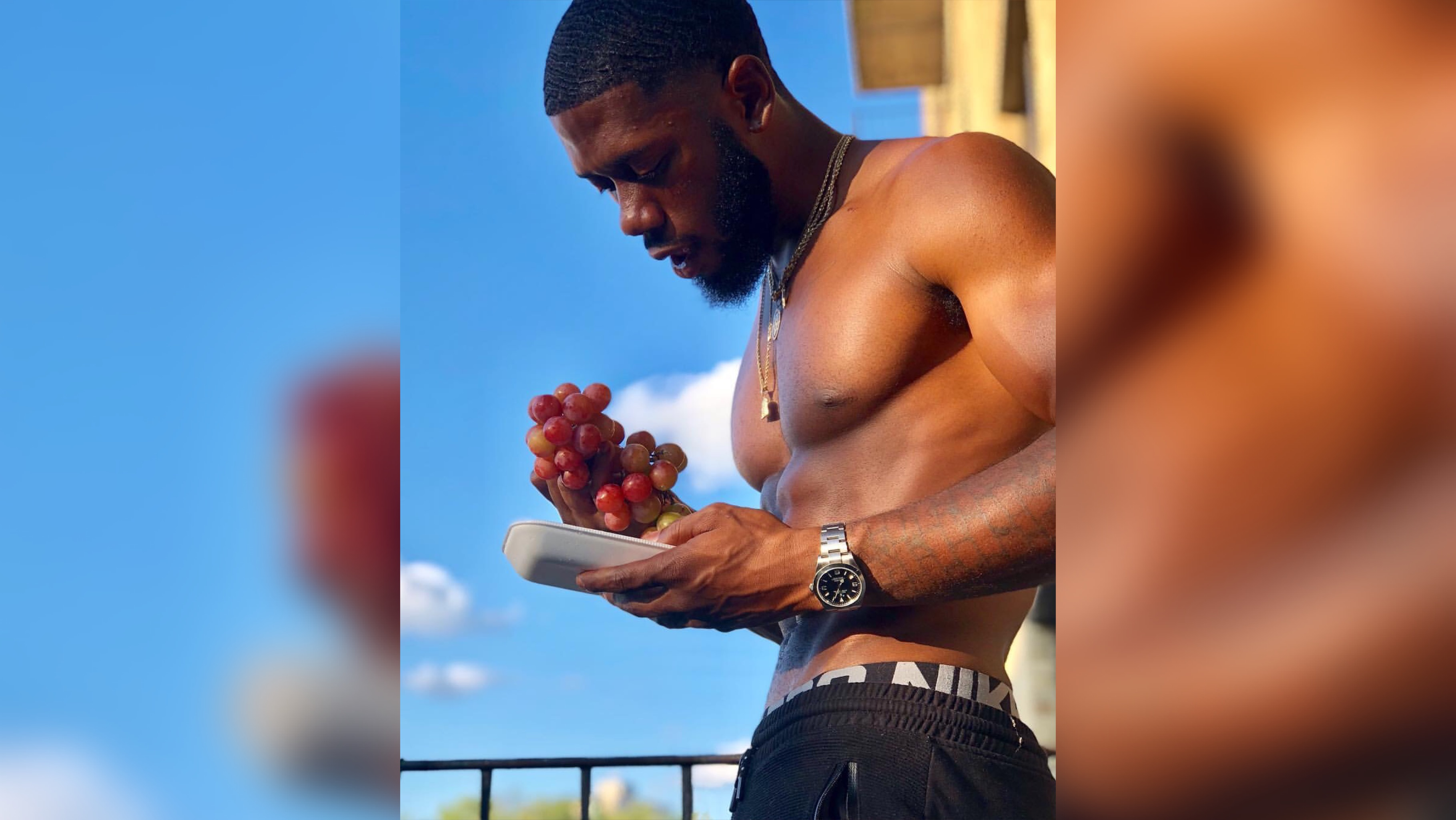 Eye Candy: Prison Style Fitness Camp Trainer Dontrell Britton