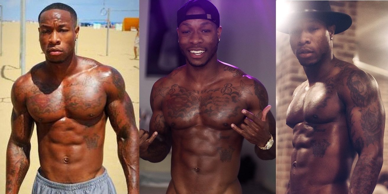 Eye Candy: Atlanta Sip & Paint Model Shaq Barksdale