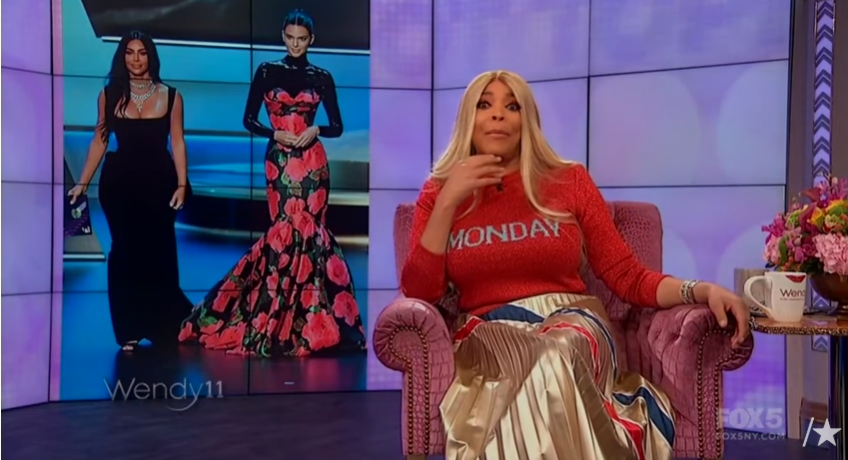 Wendy Williams Said those who Laughed at the Kardashians at the Emmys were Jealous