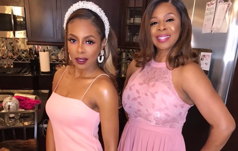 Candiace Dilliard's Mother Confirms Monique Samuels is Being Shutout from RHOP Production
