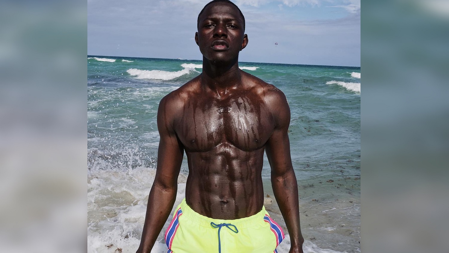Eye Candy: Model, Fitness Trainer and Youtuber Mohamet Mbaye aka Swaggy Mo