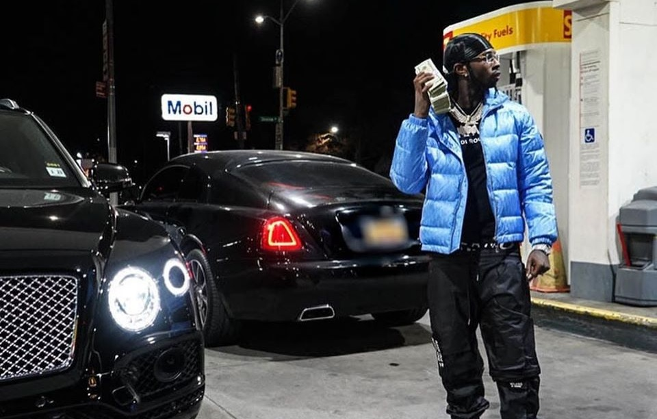 Brooklyn Rapper Pop Smoke Gets Charged with Stealing a $375,000 Rolls Royce