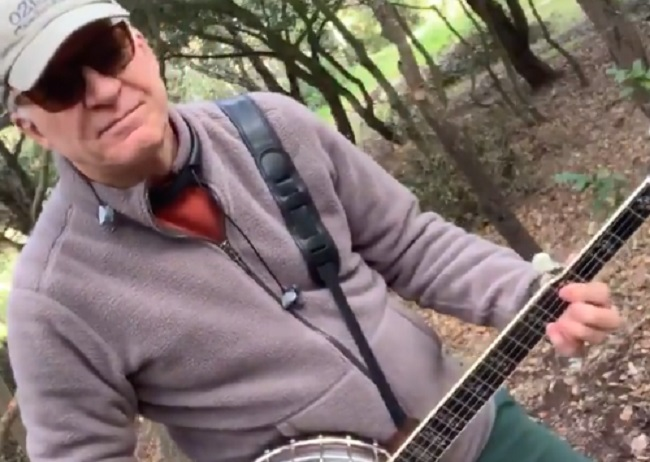 Steve Martin Playing the Banjo in the Woods Because of the Coronavirus is All Of Us Right Now