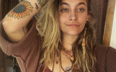Paris Jackson Gave Herself Her Own Tattoo While On Quarantine