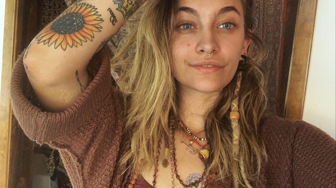 Paris Jackson Gave Herself Her Own Tattoo While On Quarantine