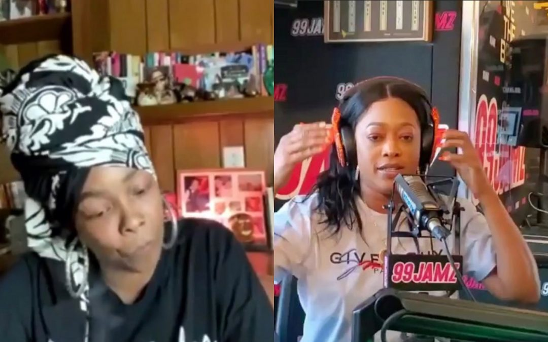 Trina Responds to Khia's Verzuz Battle Request Calling Her a Scumbag and Beneath Her