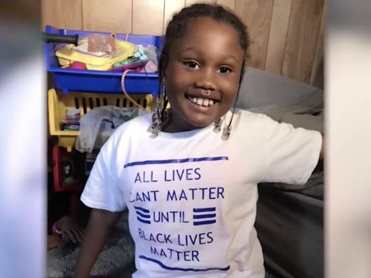 6 Year Old Girl Gets Kicked Out of School Over Black Lives Matter Shirt