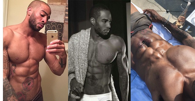 Invite Only Cabo's King Agu Shows Off His Big D Energy Working Out Naked -  Popglitz