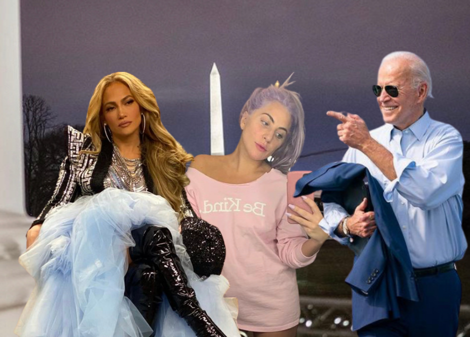 Lady Gaga and Jlo will be Headlining Biden's Inauguration Followed by a Tom Hanks Hosted TV Special