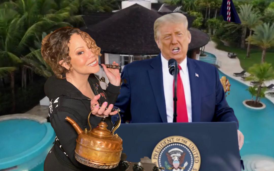 "Mariah Carey Tells Donald Trump to ""GTFO"" the White House"