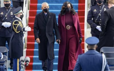 Michelle Obama's Hair Goes Viral for Biden's Inauguration and #BlackTwitter Doesn't Disappoint