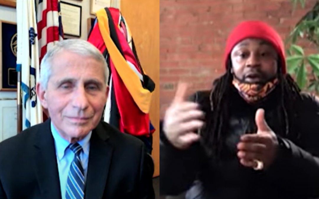 """Marshawn Lynch Asks Dr. Fauci About the COVID Vaccine, """"Will It F*ck Us Up?"""""""