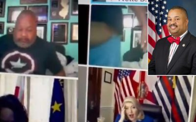 Congressman Gets Caught in His PJ's and Belly Out During Zoom Call