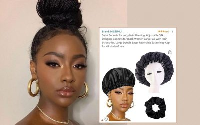 Justine Skye Is Upset Over Her Pic Used in a Cheap Bonnet Ad on Amazon