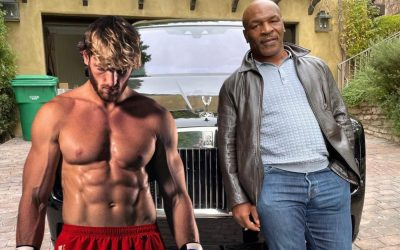 """Logan Paul Says """"You Can't Tell Me I Can't Beat Mike Tyson"""" + Says He's """"Old, Old"""""""