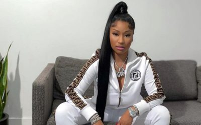 Nicki Minaj Fans March at the CDC HQ in Support of Her Anti-Vax Comments